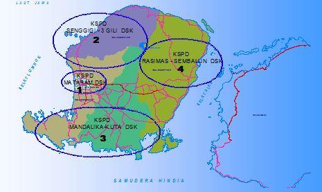 peta dpd-kspd pulau lombok