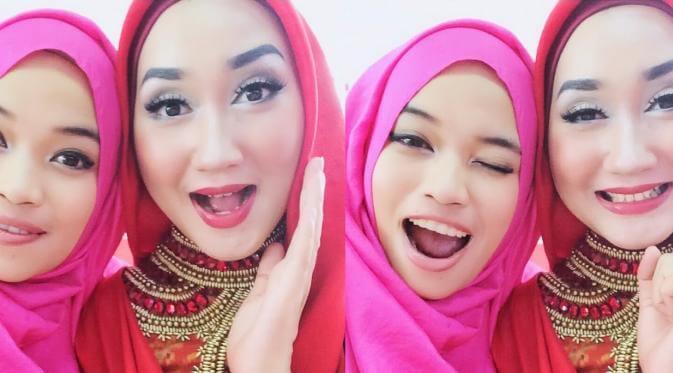 Siapa yang tidak mengetahui desainer fashion hijab berbakat Indonesia, Dian Pelangi dan Ghaida Tsuraya? Iya, dua desainer muda nan jelita in
