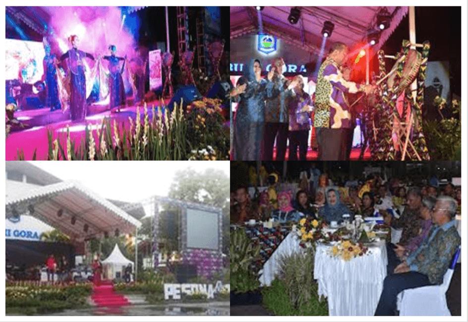 opening ceremony festival pesona tambora 2016-bingkai