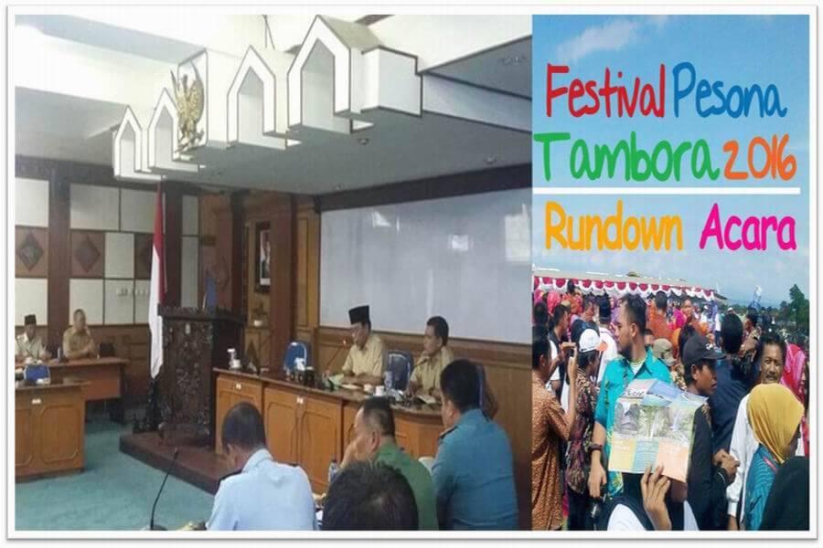 rapat final persiapan festival pesona tambora 2016-bingkai